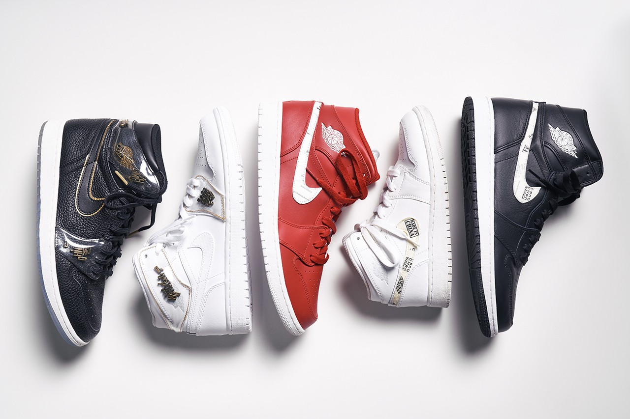 Sole Mates Feng Chen Wang Air Jordan 1 Spring Summer 2018 SS18 Runway Shoe Collaboration AJ1 Mid Sneakers Shoes Trainers Basketball Converse Chuck 70 Pro Leather Chinese Design Female Male Concepts Rare Interview HYPEBEAST Michael Jordan MJ BBall China