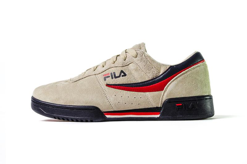 FILA, APT.4B, Original Tennis, Tennis, Suede, Gold, Classic, 80s, NYC, Streetwear, Footwear, Sneakers,