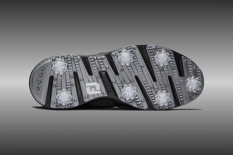 Footjoy Hyperflex BOA Black Performance Golf Shoe Knit Upper Strap