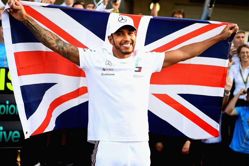 formula 1 mercedes benz petronas lewis hamilton seventh world champion title record knighthood knight united kingdom britain