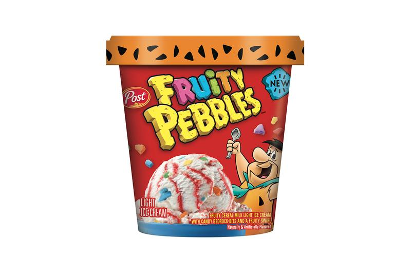 Fruity and Cocoa PEBBLES Light Ice Creams Release Post Foods Taste Review