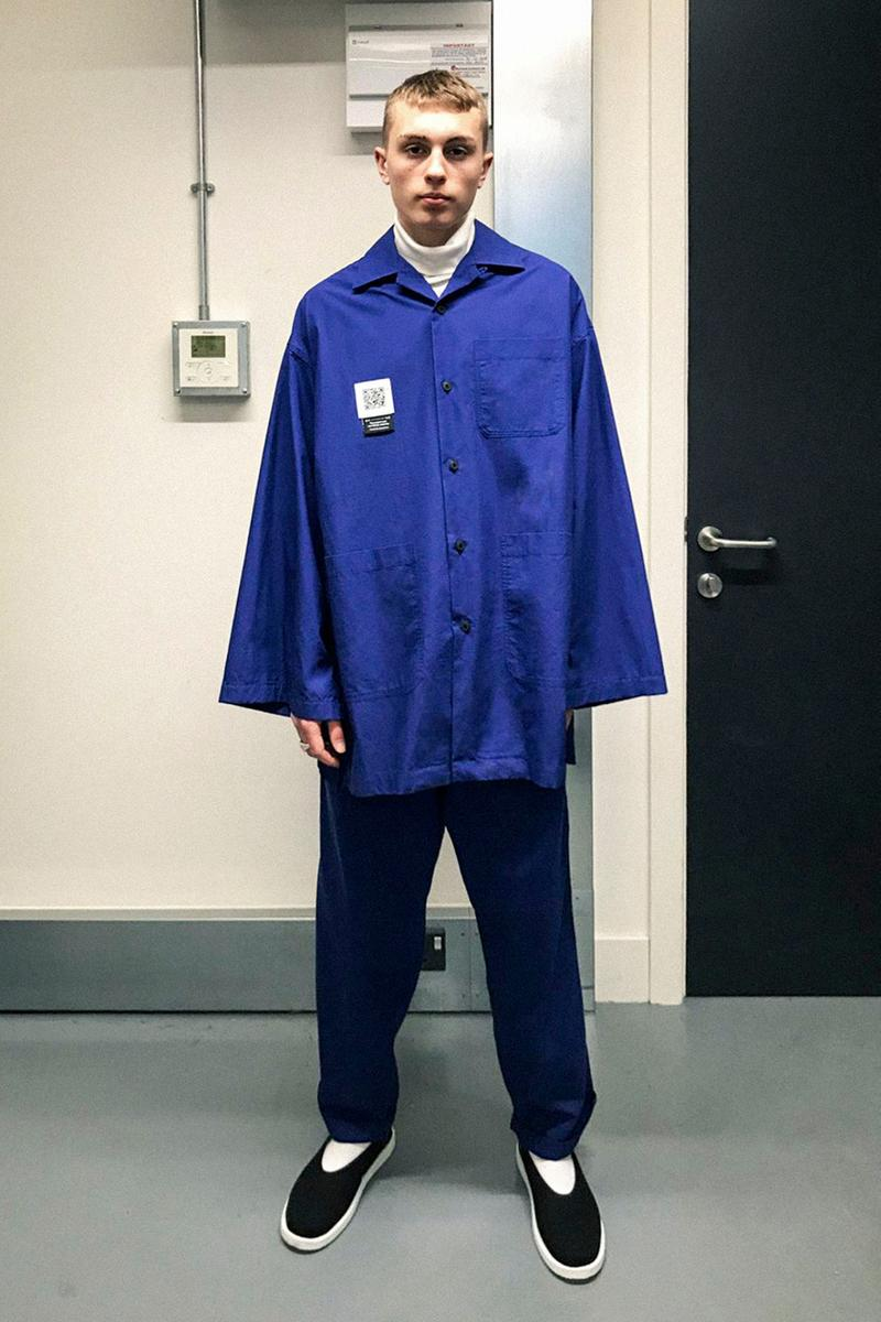 Fumito Ganryu Fall/Winter 2021 Collection Lookbook menswear paris fashion week fw21