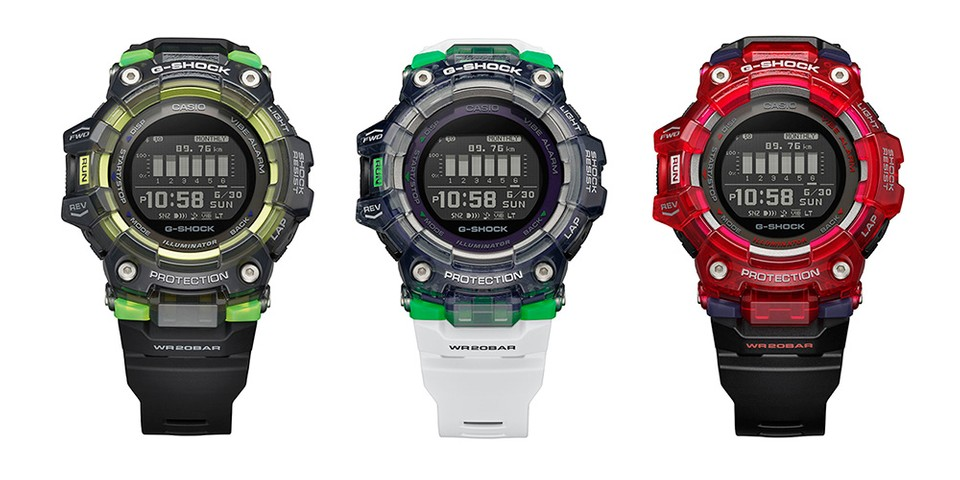 G-SHOCK Vital Series Sports Trio Plays With The Light