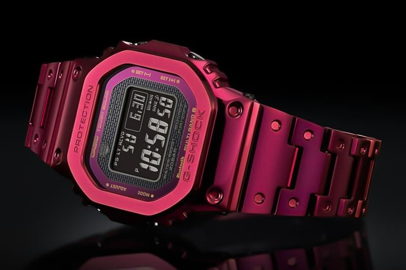casio gshock japan watches timepiece full metall 5000 red GMW B5000RD 4JF accessories