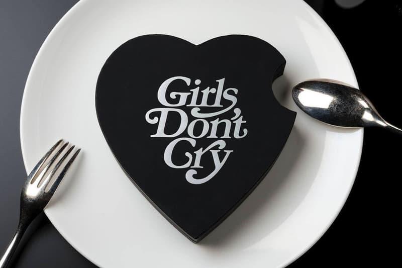 Girls Don't Cry x été Chocolate Dessert Set verdy collaboration natsuko shoji candy sweets valentines day