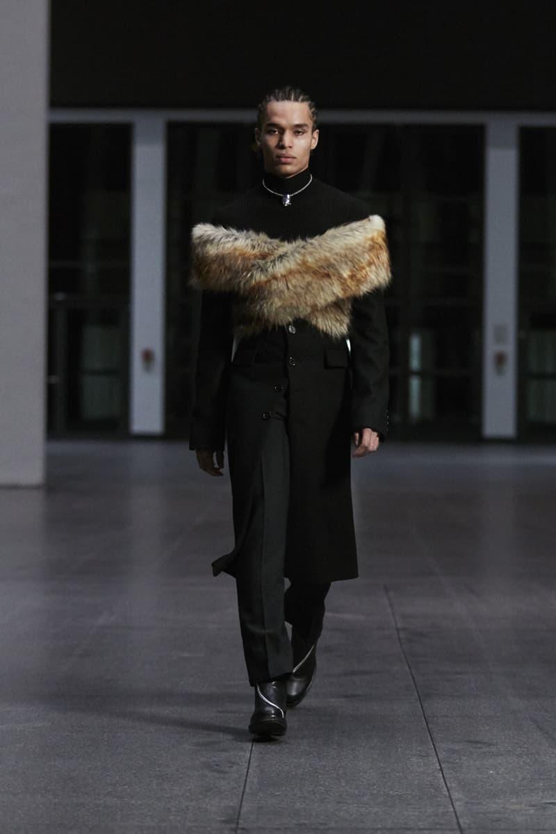 GmbH Fall/Winter 2021 Menswear Runway Collection fw21 paris fashion week pfw
