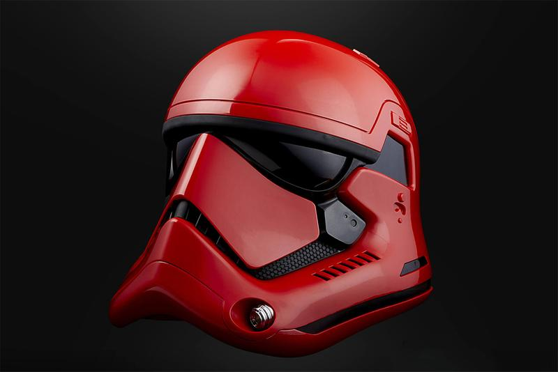 hasbro star wars captain cardinal red helmet red release info store list the black series galaxys edge
