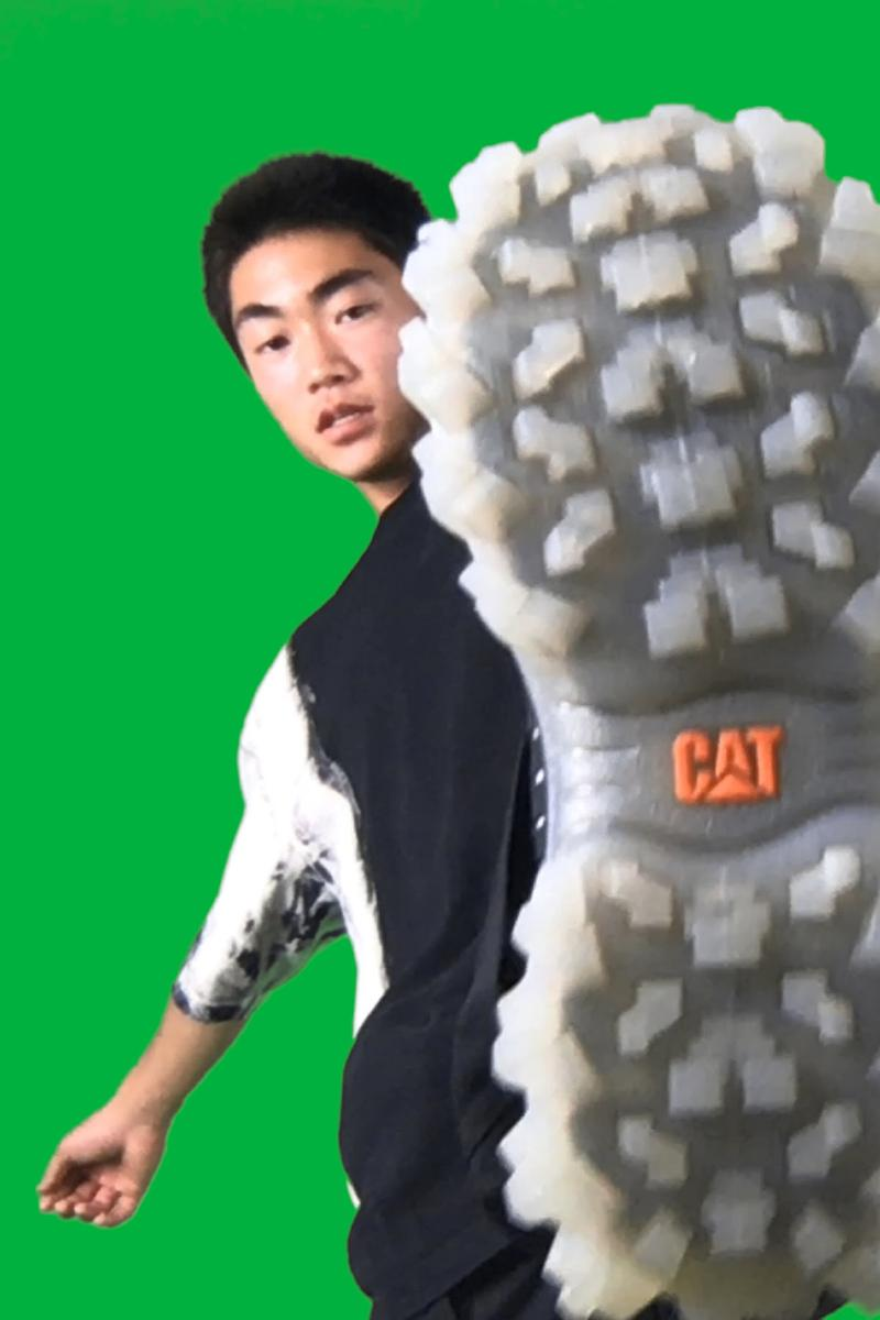 Heron Preston x Caterpillar Footwear CAT Stormer Boot Intruder Sneaker Collaboration American Designer Frontline Workers Boots Utility Tactile Collab Release Information Drop Date Closer Look