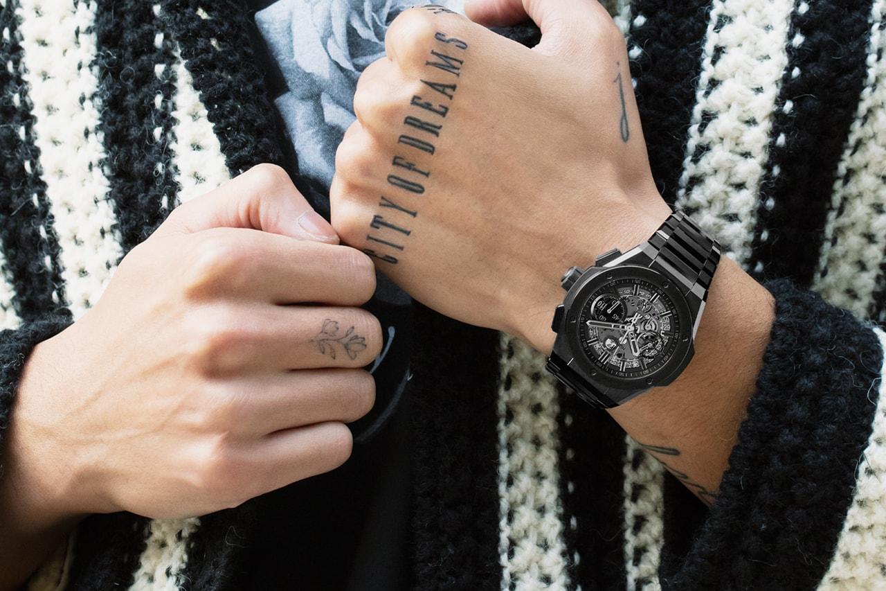 Hublot Celebrates Fifteen Years of Big Bang With New Metal Bracelet Watches Luxury Swiss HYPEBEAST