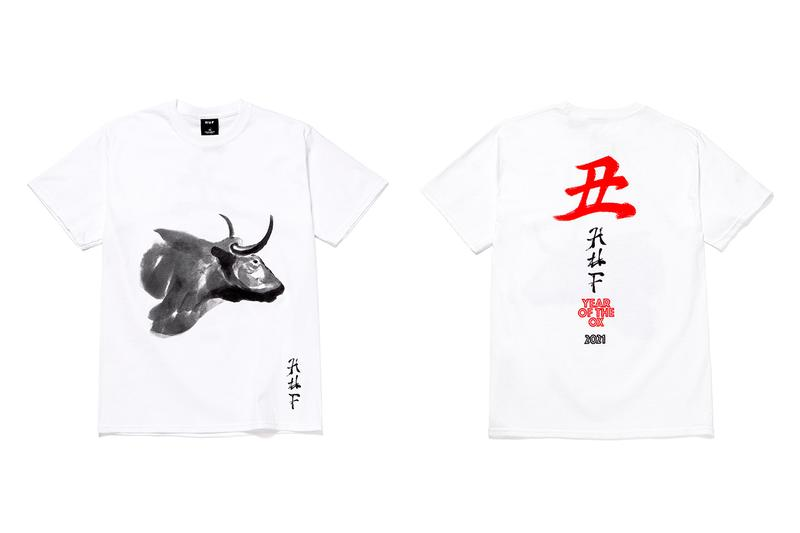 huf year of the ox apparel collection release info hoodie crewneck t-shirt tee long sleeve chinese new year release info date photos price store list buying guide