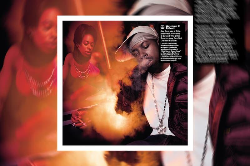 J Dilla Think Twice Muro Remix Stream welcome 2 detroit 20th anniversary vinyl box set release