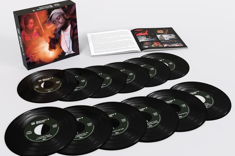 J Dilla Welcome 2 Detroit 20th Anniversary Edition box set release seven inch donuts