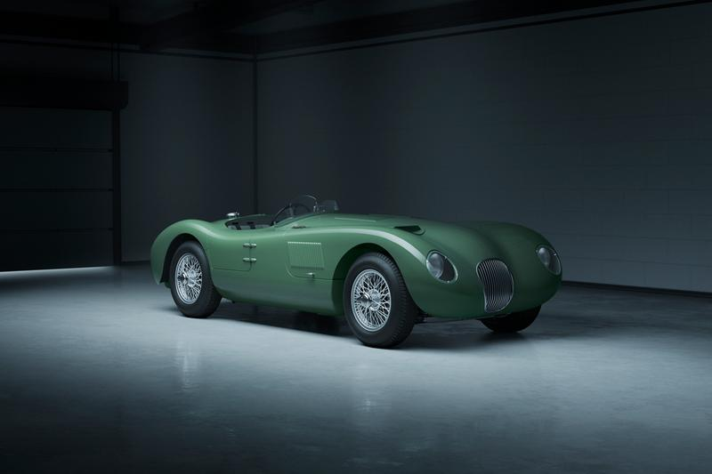 Jaguar Classic C-type Continuation 1950s Race Car Sportscar Cars British Engineering Automotive Company Performance Speed Power Design Vintage Retro 50s 1953 Le Mans 24 Hours Lightweight E - type, XKSS and D - type