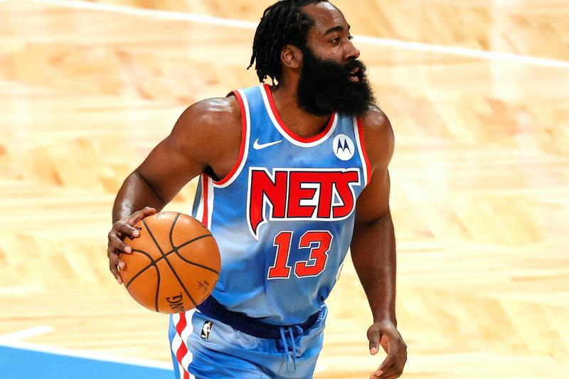 James Harden Brooklyn Nets Debut NBA History Thirty Point Tripe Double Basketball