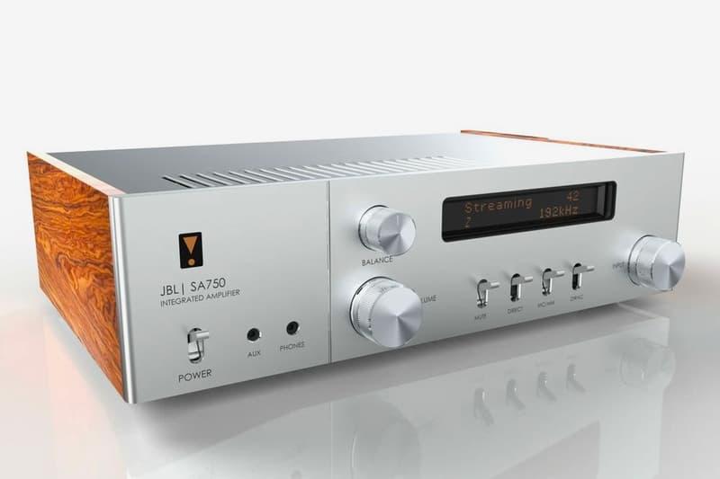 JBL Celebrates 75th Years With Retro-Inspired SA750 Integrated Amplifier hi-fi home audio harman
