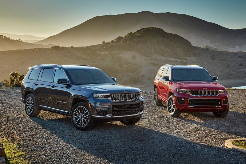 JEEP Unveils Its Premium Grand Cherokee L With a Third Row SUVs cars McIntosh Labs family trucks 4x4 JEEPS large 2021 American auto