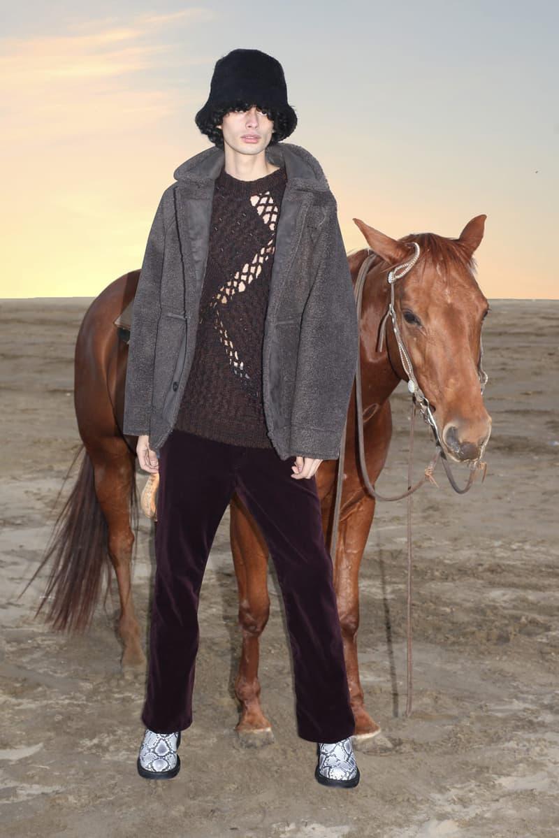 JIEDA Fall/Winter 2021 Collection Lookbook fw21 japanese brand cowboy western style marlboro