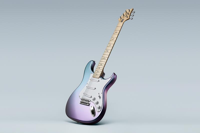 John Mayer PRS Guitars Silver Sky Guitar Limited Edition Release Info Buy Price polychromatic Lunar Ice finish