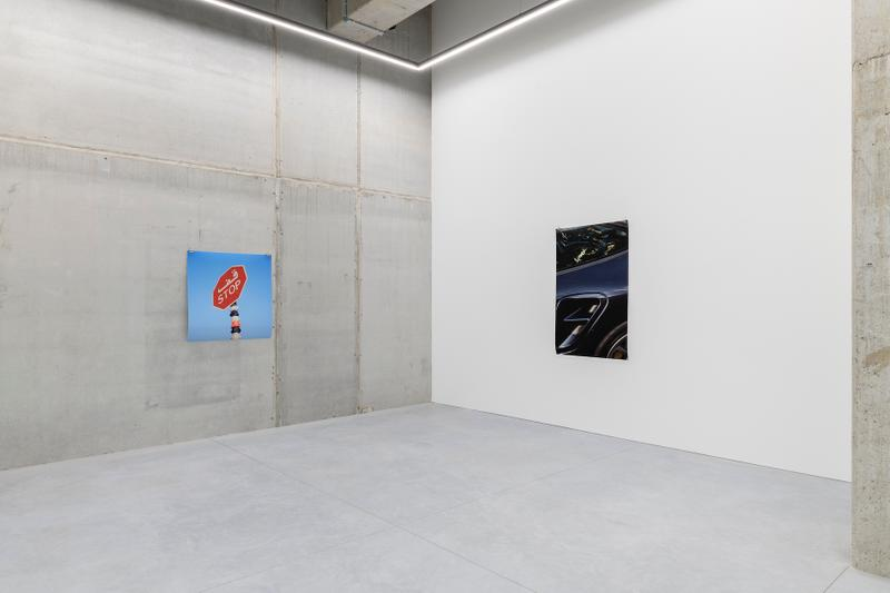 julien boudet tout est bleu exhibition stems gallery