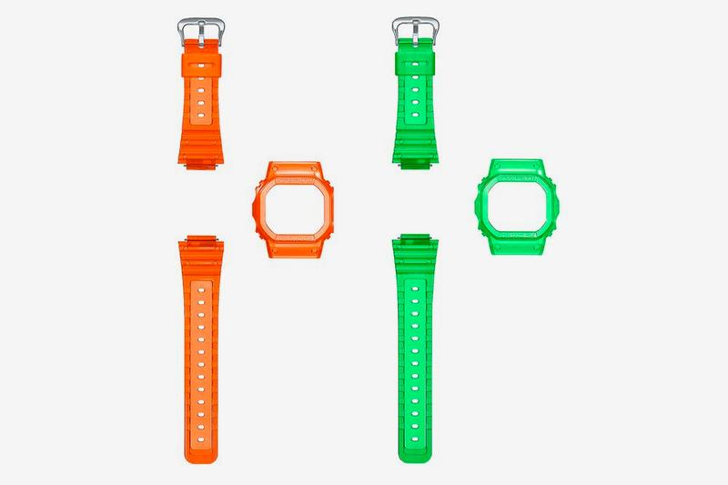 Kashiwa Sato x Casio G-SHOCK DW-5600ks Watch Collaboration timepiece band bezel release date info buy customize skeleton