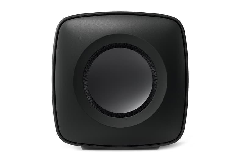 KEF KC62 Uni Core Force Cancelling Subwoofer speaker technology tech engineer patent ibx smartlimiter wireless audio 1000W RMS Class D amplification P Flex pressure info