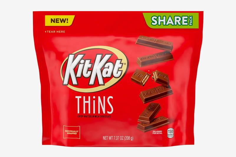 Kit Kat Thins Nestlé chocolate news Hershey snacks candy wafer chocolate calories food