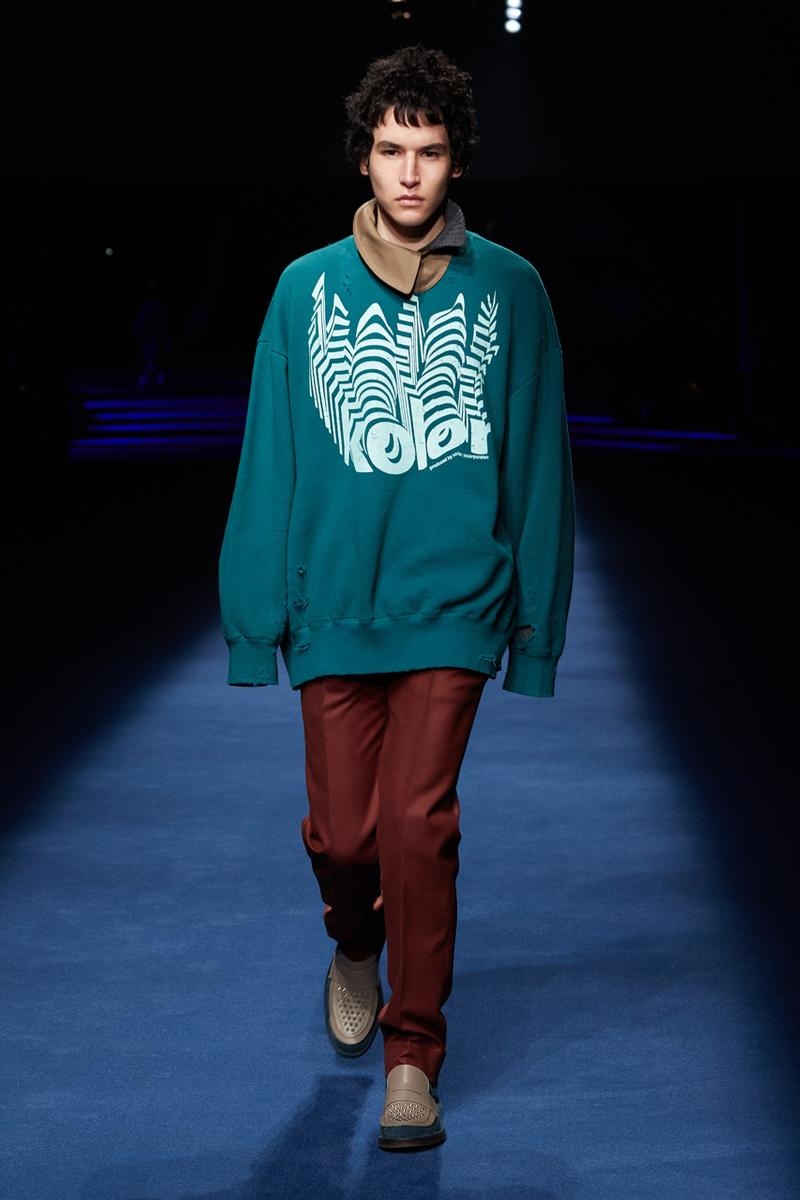 kolor Fall/Winter 2021 Collection Runway Show fw21 menswear womenswear japan junichi abe adidas collaboration