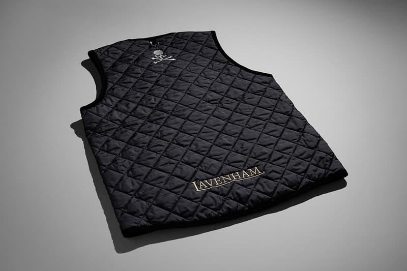 mastermind WORLD Lavenham 2021 Collaboration jacket gilet hooded black outerwear