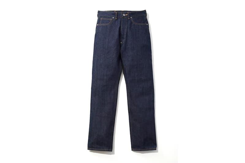 Lee Revives WWII 101 Model Cowboy Jeans and Jackets vintage denim world war II jeans pants blue