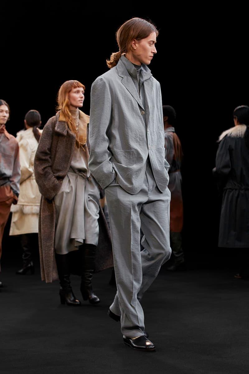 Lemaire Fall/Winter 2021 Collection Runway coed menswear womenswear lookbook fw21
