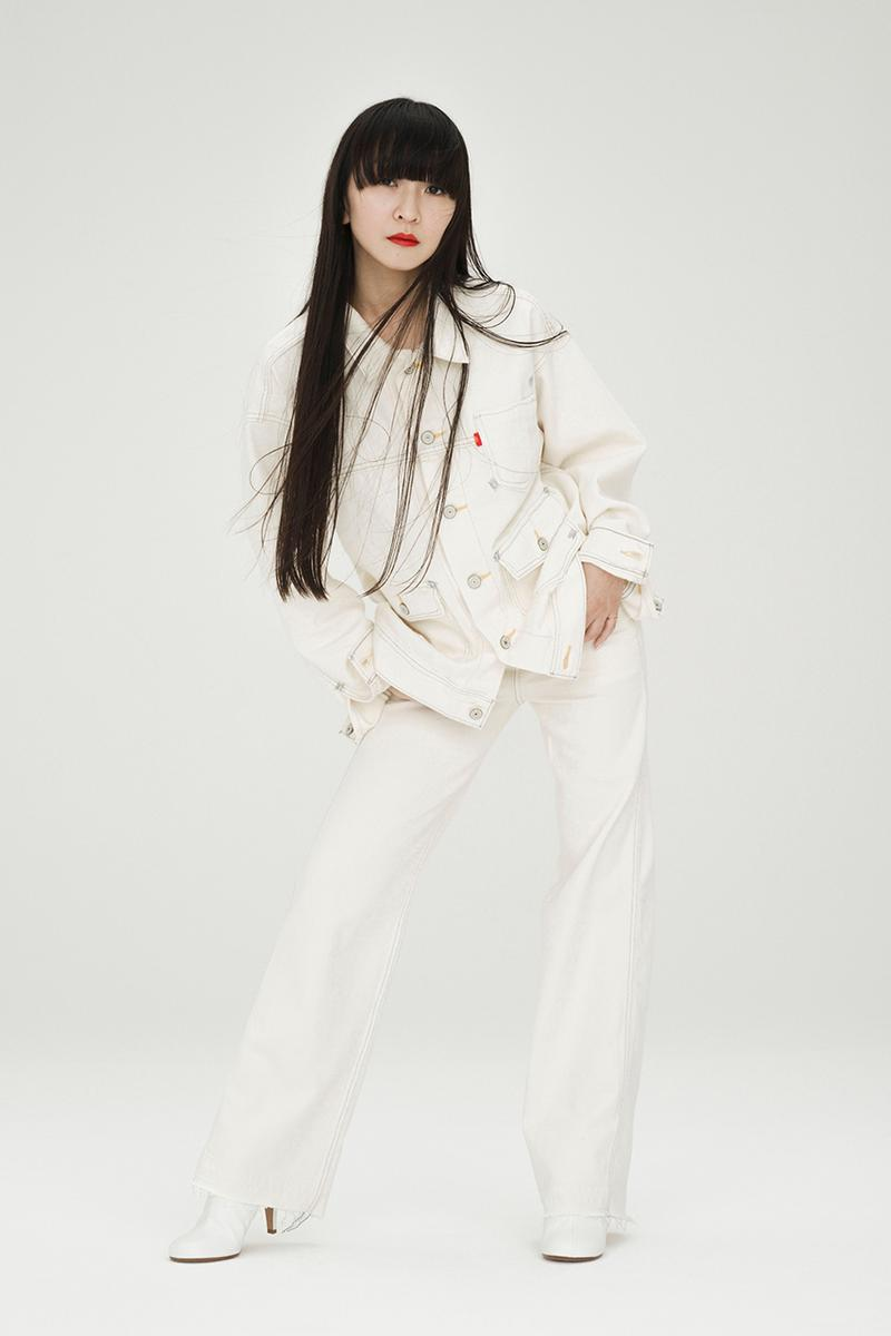 Levi's Japan RED Collection SS21 With Perfume パフューム spring summer 2021 buy january 29 release date info buy jeans Campaign