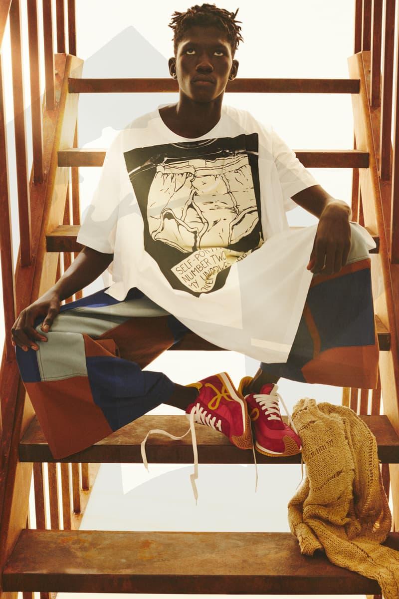 LOEWE Fall/Winter 2021 Men's Collection Lookbook menswear jonathon anderson fw21 Joe Brainard