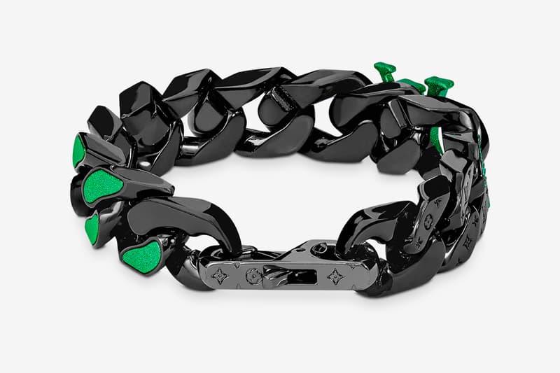 Louis Vuitton's Latest 2054 Bracelet Channels Drake's Nautilus Ref. 5726 Emeralds Green accessories