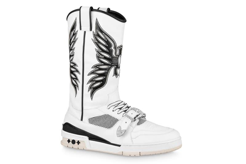 Louis Vuitton LV Trainer Sneaker Boot Release Info 1A8Q3A Virgil Abloh Buy Price Black White