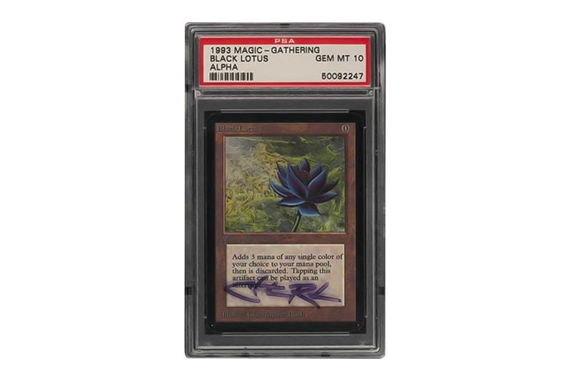 eBay Is Looking to Break Records With This Signed PSA 10 Magic: The Gathering Alpha Black Lotus  Chris Rush  TCG Cards auctions cards sales PWCC
