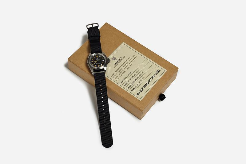 Maharishi Royal Marine 1950 Pays Tribute To Brando Rolex With Experimental Watch Unit