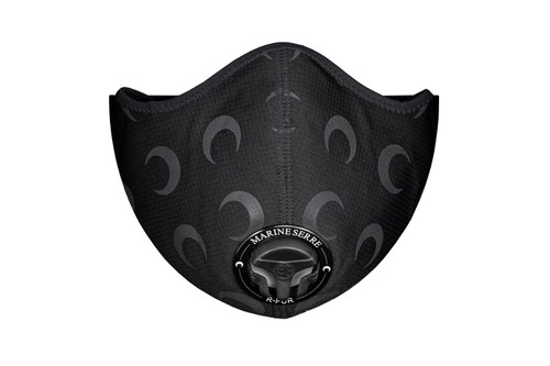 Marine Serre and R-PUR Unveil Reflective Moon Face Mask Collab