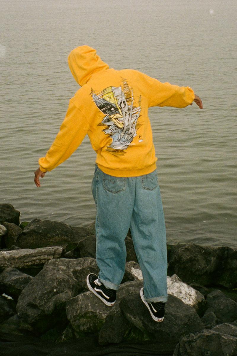 Marvel Paul Jackson Primitive Skateboarding Collection Release Info Buy Price Date Hat Cap Sock Sticker Deck Pants T shirt Hoodie Venom Doom Wolverine