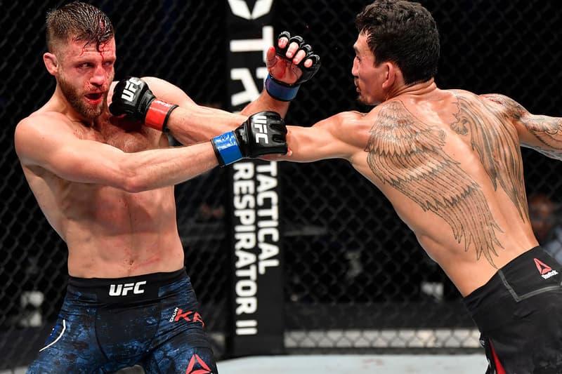 Max Holloway Calvin Kattar UFC Fight Island 7 445 Significant Strikes record conduit matt brown abu dhabi Conor Mcgregor Dustin Poirier ABC
