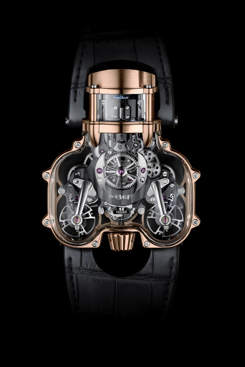 MB&F Releases Sapphire Vision Version of Horological Machine No.9