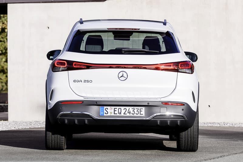 mercedes benz gla eqa eq electric lineup cars vehicles crossover