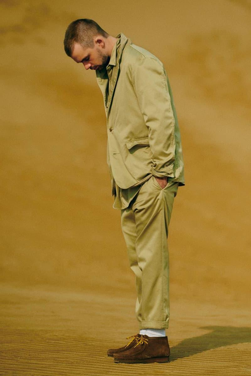 nanamica spring summer 2021 editorial menswear streetwear japanese ss21 lookbooks outdoors jackets coats pants trousers shirts t shirts
