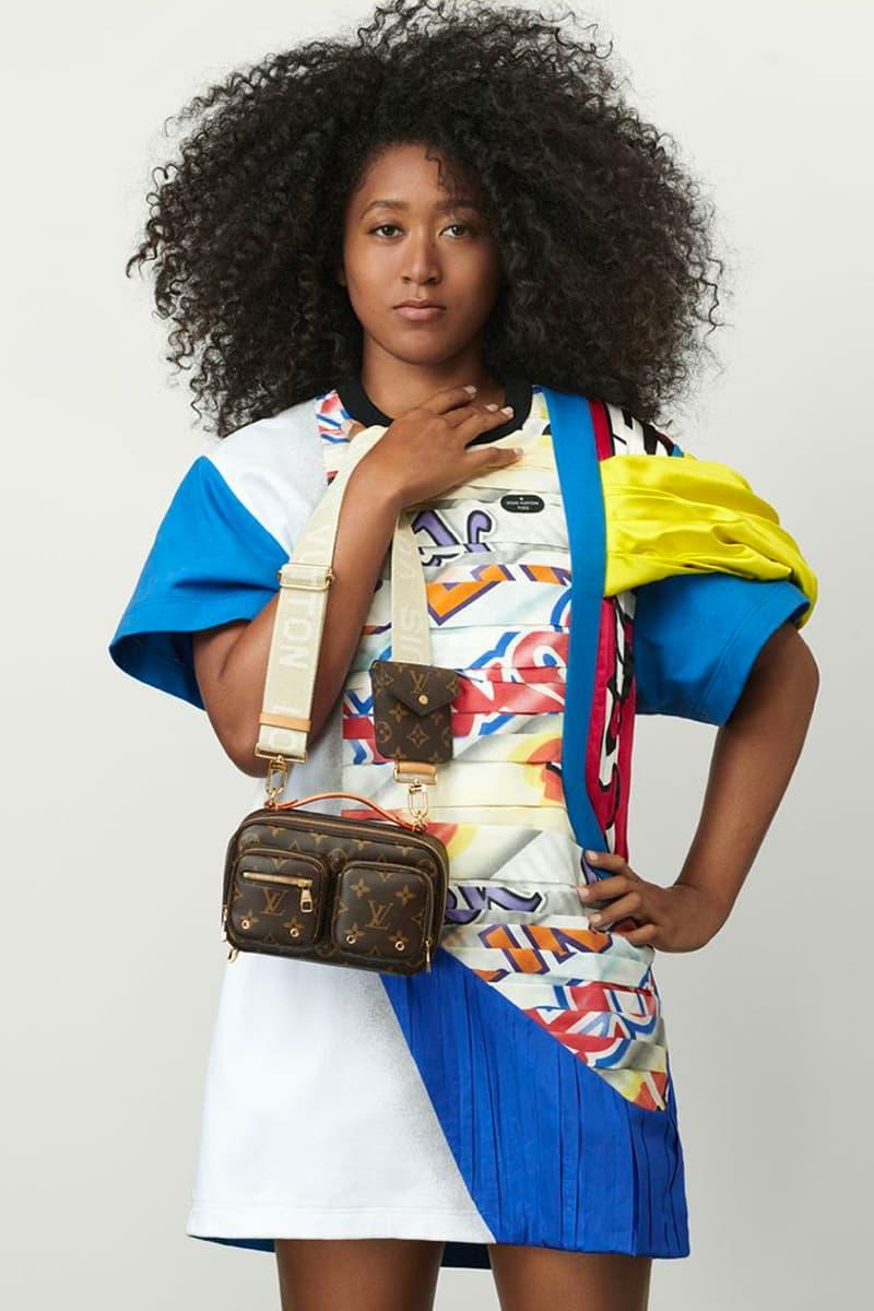 Naomi Osaka Is Louis Vuitton's Womens Ambassador nicolas ghesquiere campaign spring summer 2021 ss21