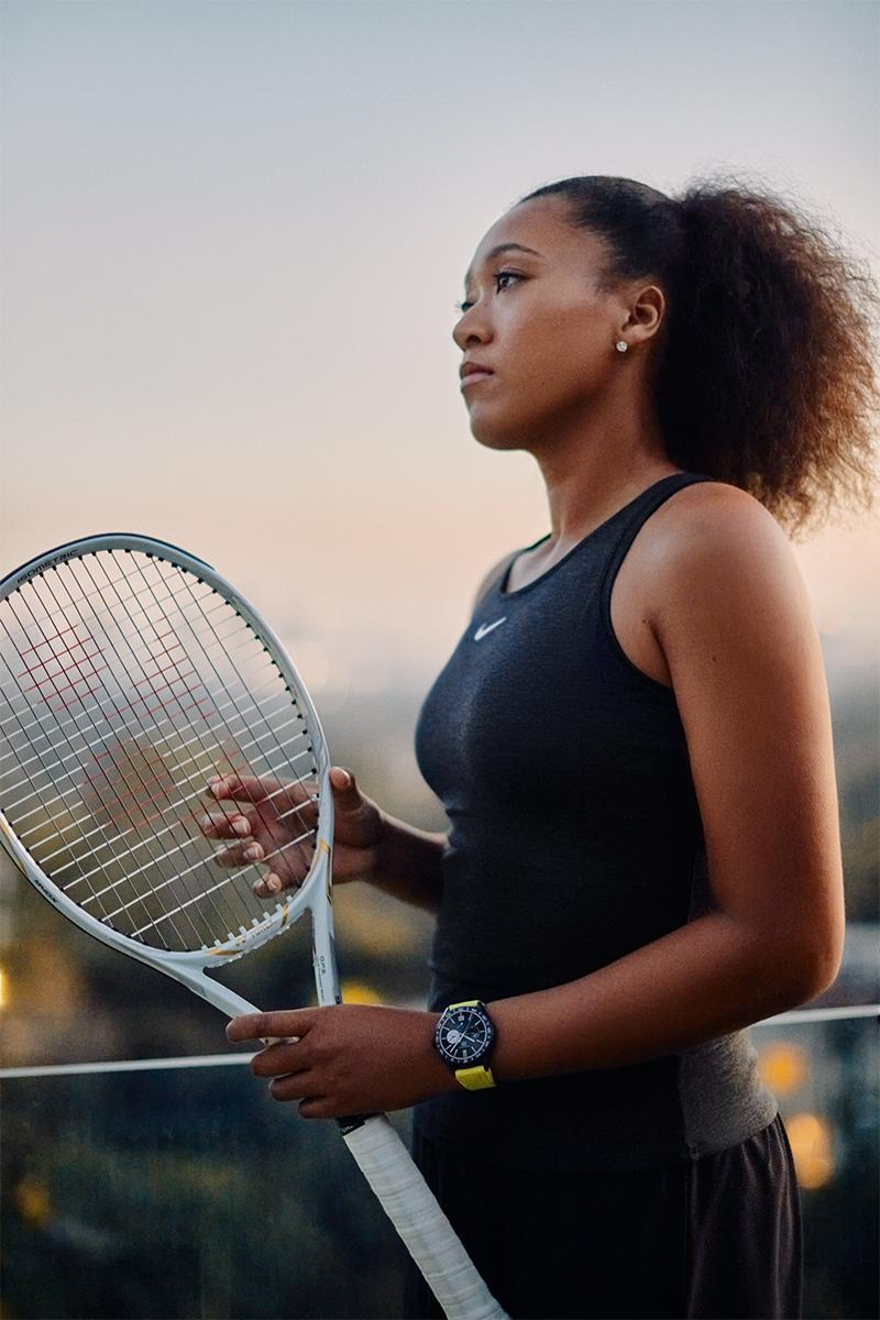 naomi osaka tennis tour japan tag heuer watches accessories brand ambassador lvmh sponsor