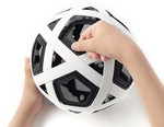 Nendo Designs a Soccer Ball You'll Never Need to Inflate