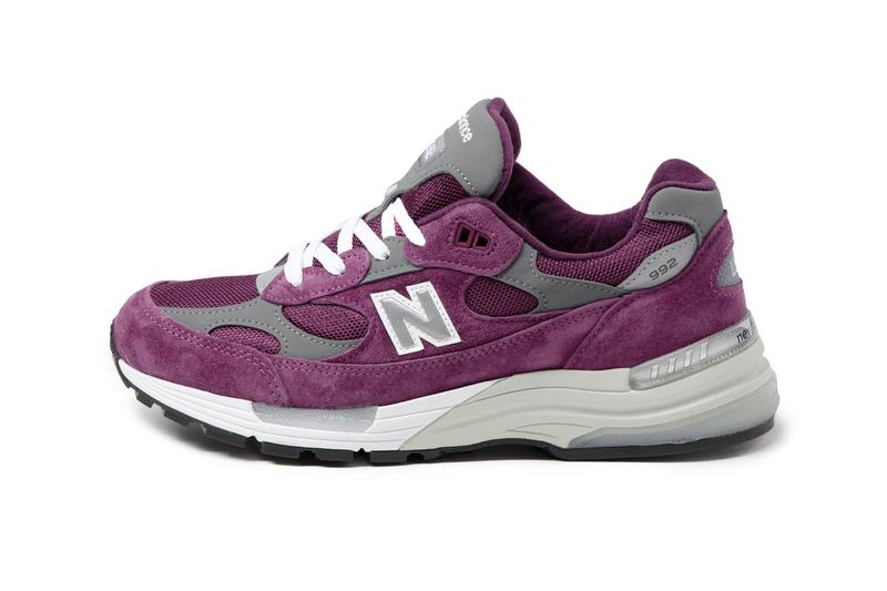 new balance 992 purple grey release information how much where to buy when do they drop
