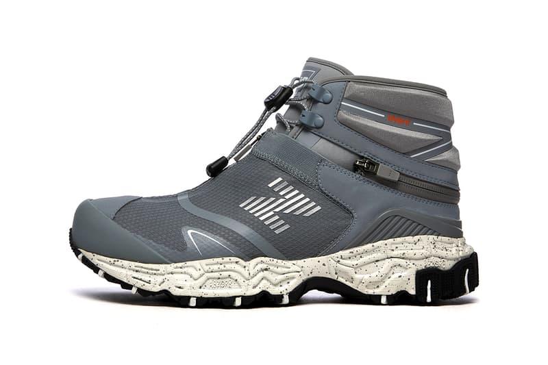 new balance tokyo design studio tds niobium concept 1 steel hiking mule two in one release information details