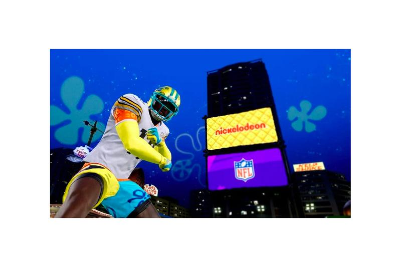 NFL SpongeBob SquarePants Nickelodeon Wilde Card Game Sunday Madden