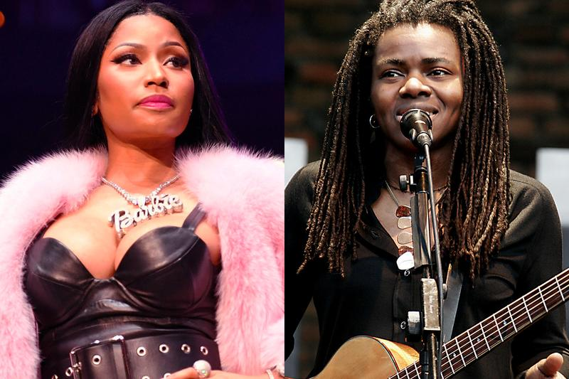 Nicki Minaj Settles Tracy Chapman Sorry baby can i hold you lawuit 450 000 usd queen