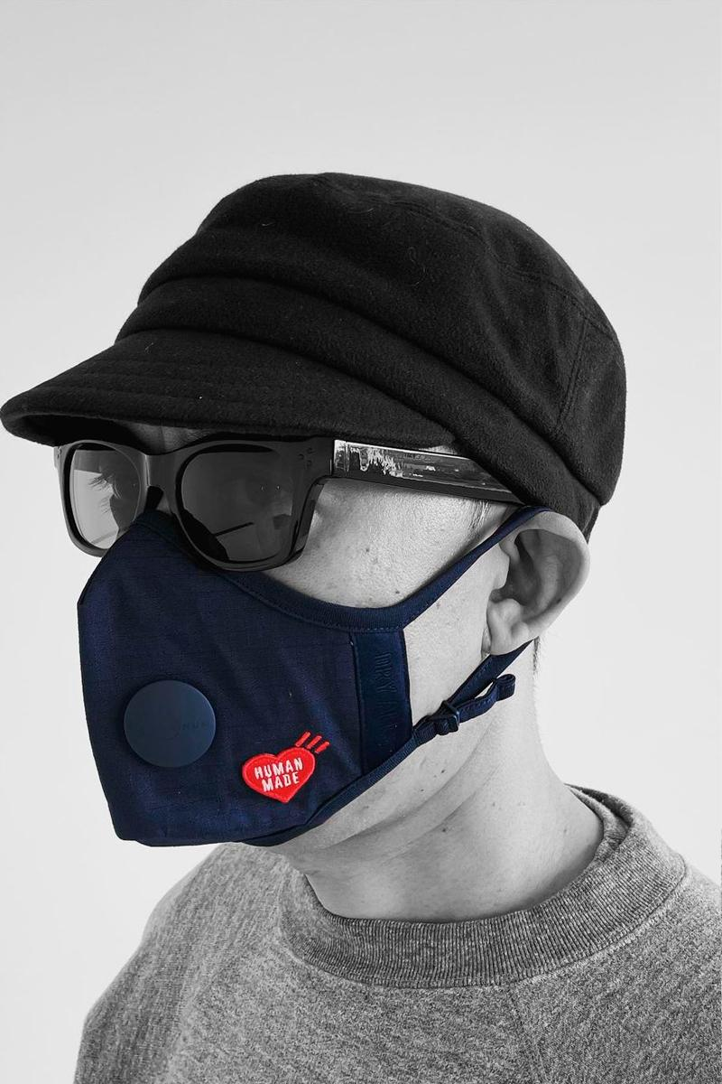 NIGO HUMAN MADE Airinum Urban Air Mask 2.0 Collab Teaser Info